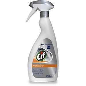Cif Professional Forni & Grill, Detergente, Trasparente, Flacone spray 750 ml, Trasparente