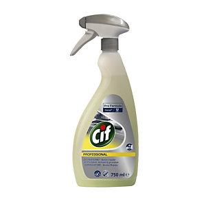 Cif Professional Power Detergente sgrassante per cucina, Multiuso Liquido, Giallo, Flacone spray 750 ml