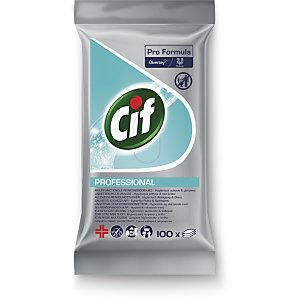 Cif Professional Salviette Multiuso Igienizzanti Pro Formula (confezione 100 pezzi)