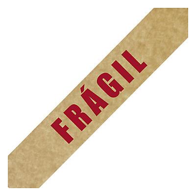 Cinta adhesiva de papel solvente con mensaje RAJA®