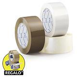 Cinta adhesiva de polipropileno silencioso calidad industrial 35 micras RAJA®