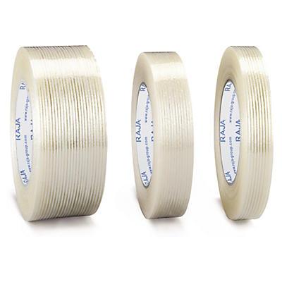 Cinta adhesiva reforzada con filamentos longitudinales RAJA®