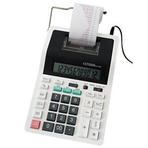 CITIZEN Calcolatrice stampante da tavolo CX-32N, 12 cifre, Bianco/nero