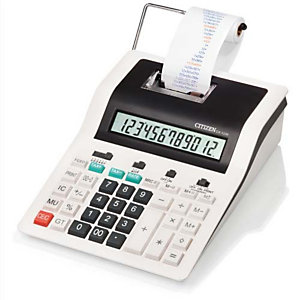 CITIZEN Calculatrice imprimante pro 12 chiffres CX123N 7202502