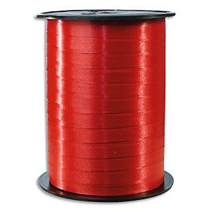 CLAIREFONTAINE Bobine bolduc de comptoir 500mx7mm lisse coloris Rouge