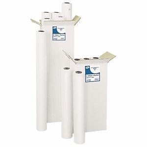 CLAIREFONTAINE Bobine papier blanc pour traceur - 50 m x 914 mm - 80 g/m² (Lot de 2)