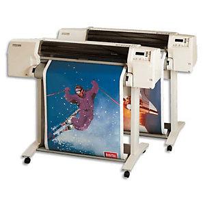 CLAIREFONTAINE Bobine de papier non couché pour traceur jet d'encre,  2654C - Format 50 m x 610 mm, 80 g/m² - Blanc (Lot de 6)