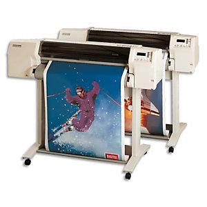 Clairefontaine Bobine de papier non couché pour traceur jet d'encre,  2654C - Format 50 m x 610 mm, 80 g/m² - Blanc