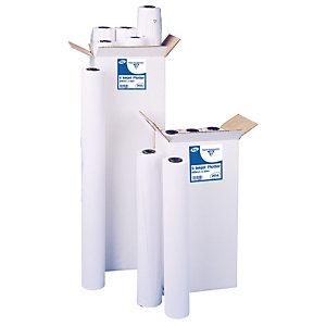 CLAIREFONTAINE Bobine de papier non couché pour traceur jet d'encre couleur - Format 50 m x 914 mm, 80 g/m² (paquet 6 rouleaux)