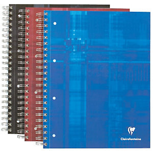 Clairefontaine Cahier  Bind'O Block - A4 maxi - Spirales - 90 g/m2 - Réglure : 5x5 - 22,5 x 29,7 cm