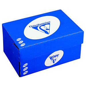 Clairefontaine Enveloppe extra blanche DL Clairalfa Premium 110 x 220 mm 90g - avec fenêtre bande autoadhésive