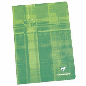 Clairefontaine Metric Cahier piqué 17 x 22 cm - petits carreaux 5x5 - 96 pages
