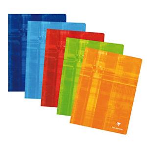 Clairefontaine Metric Cahier piqué 24 x 32 cm - petits carreaux 5x5 - 96 pages