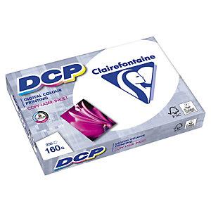Clairefontaine Papier A3 blanc 160g DCP - Ramette de 250 feuilles