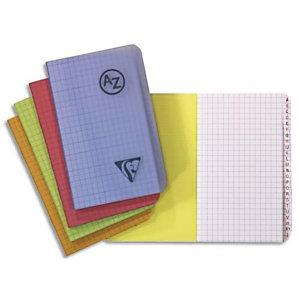CLAIREFONTAINE Répertoire LINICOLOR reliure intégrale 100 pages 9,5x14 couverture polypro assortie