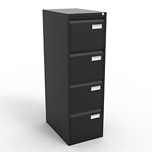 Classeur Universal  4 tiroirs - Métal - Noir