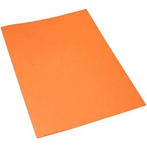 Classic Cartellina a 3 lembi, 249 x 333 mm, Cartoncino uso mano 200 g/m², Arancio (confezione 25 pezzi)