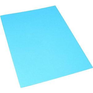 Classic Cartellina a 3 lembi, 249 x 333 mm, Cartoncino uso mano 200 g/m², Azzurro (confezione 25 pezzi)