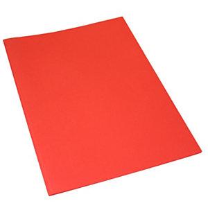 Classic Cartellina a 3 lembi, 249 x 333 mm, Cartoncino uso mano 200 g/m², Rosso (confezione 25 pezzi)
