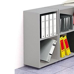 Classic Libreria Bassa, dimensioni 40 x 32 x 81,5 cm, colore Grigio