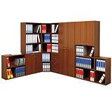Classic Libreria Bassa, dimensioni 40 x 32 x 81,5 cm, colore Noce chiaro