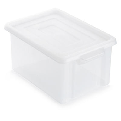 Clear stack and store plastic containers