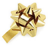 CLEARANCE - Metallic gift bows