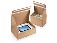 CLEARANCE - Quick Pack returnable postal boxes