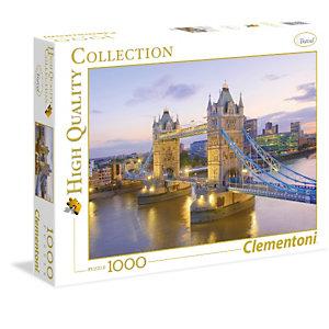 Clementoni, Puzzle, 1000pz-tower bridge, 39022B
