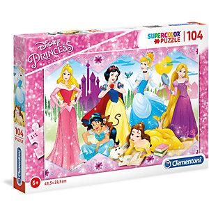 Clementoni, Puzzle, 104-  princess, 27086