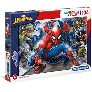 Clementoni, Puzzle, 104- spider-man, 27116