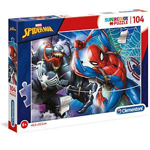 Clementoni, Puzzle, 104- spider-man, 27117
