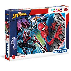 Clementoni, Puzzle, 60pz- spider-man, 26048B