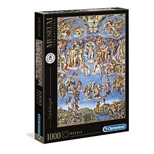 Clementoni, Puzzle, M. giudizio universale 1000pz, 39497