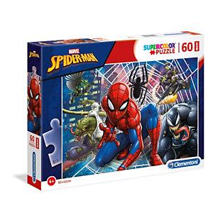 Clementoni, Puzzle, Maxi 60spider-man, 26444A