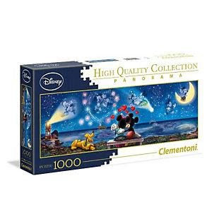 Clementoni, Puzzle, Mickey minnie hq pano1000pz, 39449