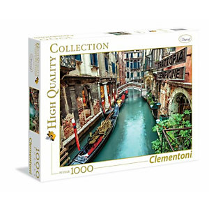 Clementoni, Puzzle, Venice canal, 39458