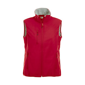 CLIQUE Gilet Softshell 3 couches femme Rouge M