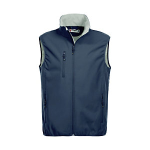 CLIQUE Gilet softshell 3 couches homme Marine L