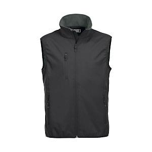 CLIQUE Gilet softshell 3 couches homme Noir 5XL