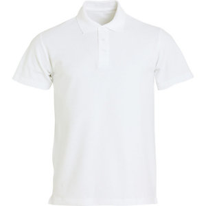 CLIQUE Polo basic Homme Blanc XS