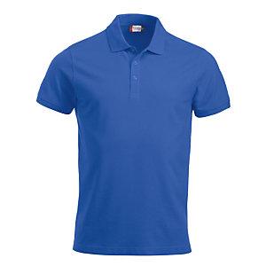 CLIQUE Polo Homme MC Bleu Royal XL