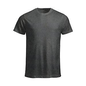 CLIQUE T-shirt Homme Anthracite Chiné L