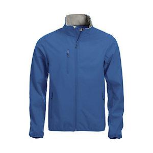 CLIQUE Softshell 3 couches Homme Bleu Royal L