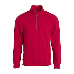 CLIQUE Sweat basic camionneur rouge XL