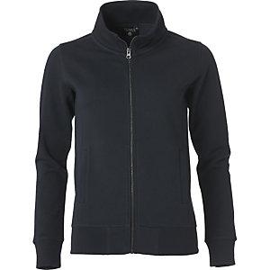 CLIQUE Sweatshirt zippée Femme Noir XL
