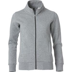 CLIQUE Sweatshirt zippée Homme Gris Chiné XL