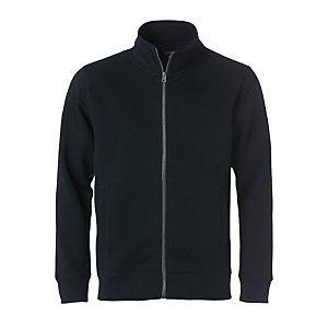 CLIQUE Sweatshirt zippée Homme Noir 3XL