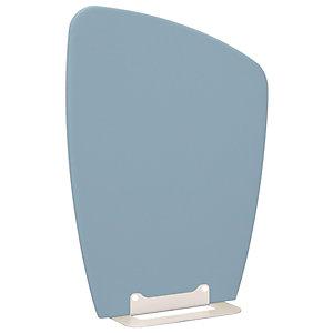 Cloison Menhir bas H.117 cm, tissu bleu azur