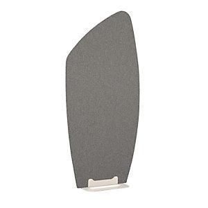 Cloison Menhir haut H.182 cm, tissu gris chiné